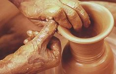 Pottery is proved to be a great stress buster...and makes for a great village pass time...