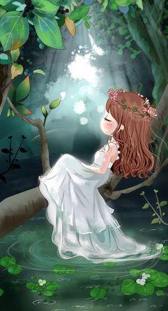 New wall paper cute anime posts Ideas Anime Art, Girls Cartoon Art, Girly Art, Cute Wallpaper Backgrounds, Cute Art, Whimsical Art, Art, Cute Cartoon Wallpapers, Cute Drawings
