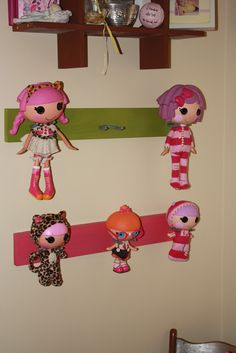 Our Version of a Family: Lalaloopsy Display!