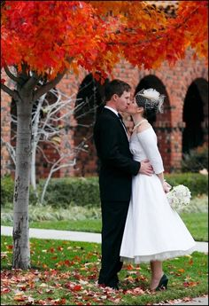 Sacred Heart Church Wedding, fall wedding ideas, ivory white flowers bouquets #2014 #ideas #Easter #Craft #food #home decor