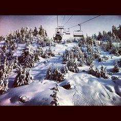 #snowboarding #cypressmountain #snow
