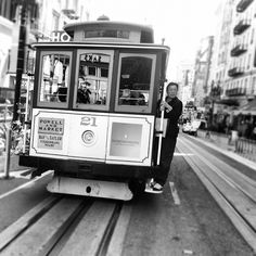 Cable cars in San Francisco #travel