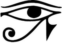 Símbolos egipcios y su significado Body Art Tattoos, Tatoos, Ancient Tattoo, Name Drawings, Egyptian Party, Acid Art, Symbols And Meanings, Magic Eyes, Egyptian Symbols