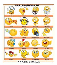 Folgen Sie uns auf YouTube www.youtube.com/learngermann German Language Learning, Italian Words, Learn German, Emoji, Youtube, Classroom, Teaching, Education, Instagram