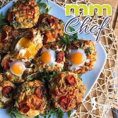 Muffins proteicos de brócoli y zanahoria Muffins, Eggs, Pasta, Fitness, Breakfast, Food, Best Healthy Recipes, Healthy Food, Vegetables