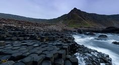 Giant's Causeway by Eugene Remizov, via Ireland, Water, Outdoor, Maps, Water Water, Aqua, Outdoors, Blue Prints, Irish