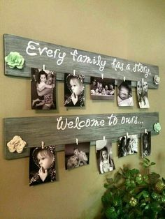 8 use cut branches to display your stunning shots do it yourself distressed wood frames are perfect solutioingenieria Images