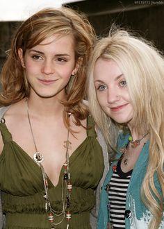 Beautiful picture of Emma Watson & Evanna Lynch!