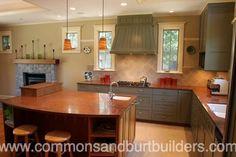 Santa Cruz kitchen remodels by Commons & Burt Builders http://commonsandburtbuilders.com