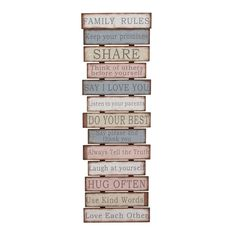 Studio 350 Wood Wall Decor 16 inches wide, 49 inches high, Multi