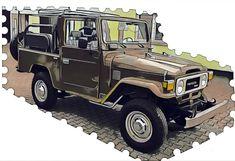 Toyota Fj40, Range Rovers, Toyota Land Cruiser, Offroad, 4x4, Monster Trucks, Wallpapers, Vehicles, Life
