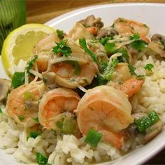 Shrimp Scampi Allrecipes.com - Made this week for dinner and it was the best we have ever had. pjm