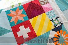 Piece N Quilt: Modern Building Blocks for Moda Fabrics
