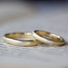 ith:伝統的な象嵌技法でおつくりしたコンビカラーのマリッジリング(オーダーメイド/手作り) 結婚指輪,marriage,ring,wedding,ウエディング,ブライダル