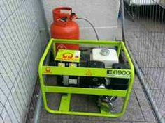 This is a duel fuel Generator (petrol and LPG)  Using a Honda GX390 engine