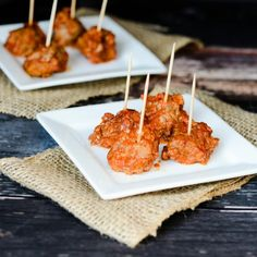 These Slow Cooker BBQ Meatballs are a light version of a fall favorite. This freezer friendly recipe will satisfy that meatball craving!
