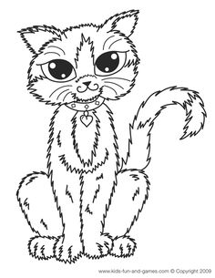 Pages Printable To Kids Fun And Games Home From Cat Coloring