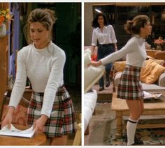 I thought Rachel's outfit in this episode  was the greatest.