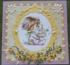 """Hobby creazioni Violetta """"Biglietti d'auguri fatte a mano e altro..."""": """"Due nuovi biglietti"""""""
