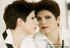 Stylish short haircut with texture via @Hairfinder Connect    #EMSalon EliseMarcusSalon.com