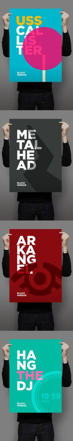 Minimalist Black Mirror S4 Posters