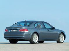 E65 BMW 750i in Space Grey (Spacegrau)