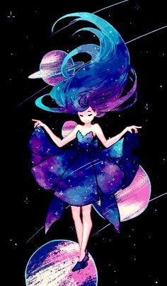 Hair drawing illustration anime girls 25 New ideas Art And Illustration, Kunst Inspo, Art Inspo, Fantasy Kunst, Fantasy Art, Pretty Art, Cute Art, Anime Kunst, Anime Art
