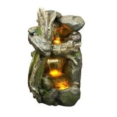 Bond Manufacturing - Y94128 - Syracuse - 15 Inch Fountain with Light * Pinterest Friends Only: Save 10% on everything on PatioProductsUSA.com with #coupon code PIN10 *