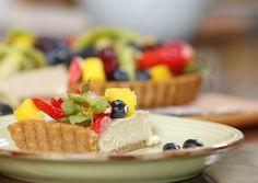 20 MINUTE SUMMER FRUIT TART #healthy #vegan #fruit #tart #recipe #dairyfree #sugarfree #glutenfree #raw #begoodorganics