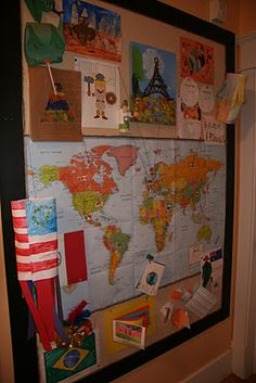 Great ideas for decorating and setting up for exploring countries and cultures by MFW our curriculum for next year. Social Studies Classroom, Social Studies Activities, Teaching Social Studies, Teaching Geography, World Geography, First Grade Crafts, Celebration Around The World, My Father's World, Transportation Theme
