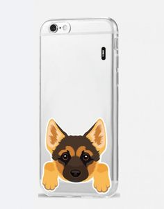 funda-movil-animales-Pastor-aleman Phone Cases, Iphone, Dog Design, German Shepherd Dogs, Mobile Cases, Animales, Phone Case