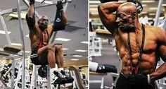 O Incrível Bodybuilder De 70 anos!!!