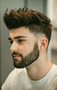 Short Beard Styles the collection of hair that grows on the chin and cheeks of humans and some non-human animals. Styles for men and Beard styles. Cool Hairstyles For Men, Haircuts For Men, Men's Haircuts, Haircut Men, Haircut Short, Modern Hairstyles, Modern Man Haircut, Asian Hairstyles Men Short, Different Hairstyles For Boys