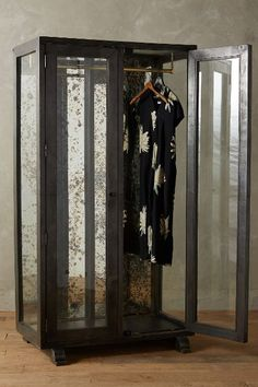 Mirrored Display Armoire - anthropologie.com #anthrofave