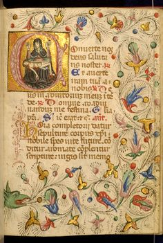 Zanino di Pietro - Leaf from Book of Hours - Walters W32288R - Open Obverse.jpg