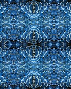Amazing blue texture, a wallpaper by Ottoline, posted by Ethnic Chic