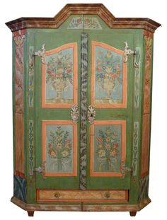 Tyrolean cabinet original from Alps