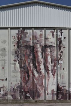 ..._Borondo - Street Artist.  #borondo http://www.widewalls.ch/artist/borondo/