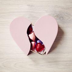 Hartendoosje kraft met chocolaatjes
