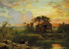 fernando amorsolo | Fernando C. Amorsolo Biography, Works of Art, Auction Results ...