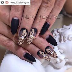 #Repost @nune_khalachyan (@get_repost) ・・・ #nails #gelnail#manicure #nails2017 #nails2die4 #naildesigner#nails_champions #nailart #nailsartist #handmadenail#nailsideas #beautiful #hybrydy#hibrid #hybrydy #gel #nails_champions #nailsdesign #paznokcie#paznokciehybrydowe #nails#nailsart#manicurekombinowany #cutenails#nails2inspire