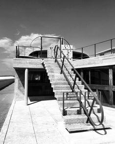 Unite d'Habitation/La Cite Radieuse by architect Le Corbusier by Marseille All photographs by Damien B. Le Corbusier Architecture, Brutalist