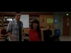 GLEE - Just Can't Stop Loving You (Rachel and Finn) Lea Michele and Cory Monteith...RIP Cory.