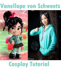 """""""Wreck It Ralph"""" Vanellope von Schweetz Cosplay Tutorial - by me!"""