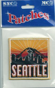 Souvenir Travel Patch Seattle Washington | eBay