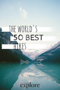 Ok, this is not exactly all Europe, but these places definitely are going to make it on our Bucket List. 50 Best Hikes in the world. Hiking Places, Hiking Tips, Camping And Hiking, Places To Travel, Camping Gear, Camping Hacks, Hiking Usa, Hiking Europe, Backpacking Meals