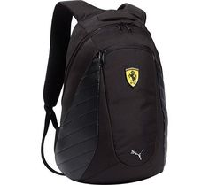 Puma Ferrari Replica Backpack Book bag Black-One Size PUMA. $79.98