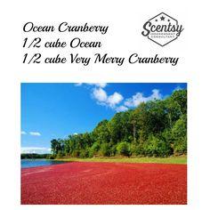 Ocean Cranberry Scentsy Recipe