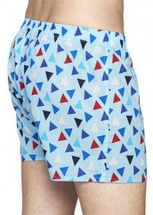 Happy Socks barevné trenýrky Triangle