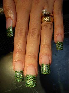 Snake Skin  by cindygnails - Nail Art Gallery nailartgallery.nailsmag.com by Nails Magazine www.nailsmag.com #nailart